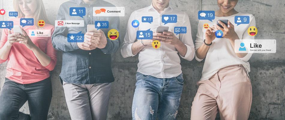 Icone des réseaux sociaux